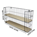 2 Tier Rectangular Floating Shelf | M&W - Image 5