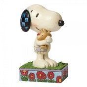 Peanuts Hug Time Snoopy and Woodstock hugging