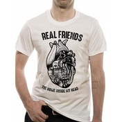 Real Friends Heart X-Large T-Shirt