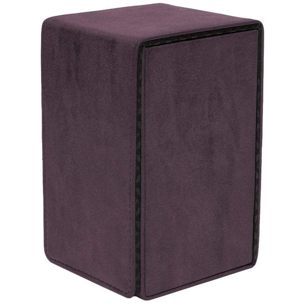 Ultra Pro Suede Collection Alcove Tower Deck Box - Amethyst
