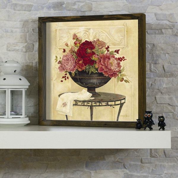 KZM444 Multicolor Decorative Framed MDF Painting