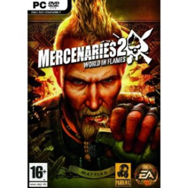 Mercenaries 2 World In Flames Game PC