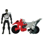 Power Rangers Dino Charge Dino Cycle With 5 Inch Black Ranger Action Figure