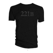 Sherlock - 221B Women's X-Large T-Shirt - Black