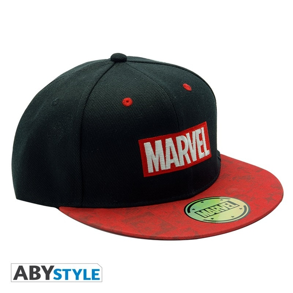 Marvel - Snapback Cap - Black & Red