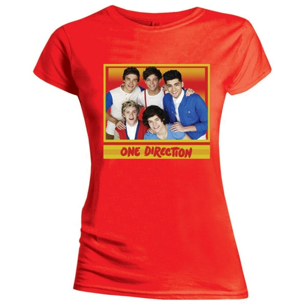 One Direction - Cool Women's Medium T-Shirt - Red