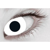 Mini Sclera White 1 Month Coloured Contact Lenses (MesmerEyez)