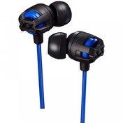 JVC HAFX103MA Xtreme Xplosives In Ear Headphones with Mic & Remote Blue