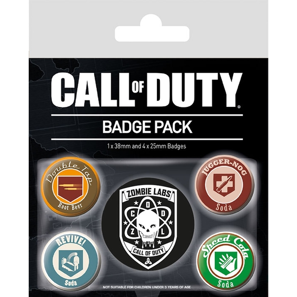 Call of Duty - Soda Badge Pack - Image 1