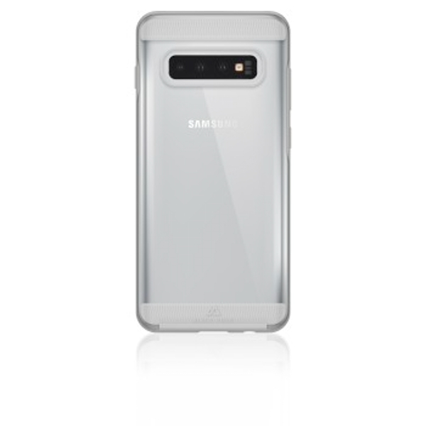 """Black Rock""""Air Robust"""" Case for Samsung Galaxy S10+, Perfect Protection, Slim Design, Polycarbonate, Polyurethane termoplastic (PUT)) Transparent"""