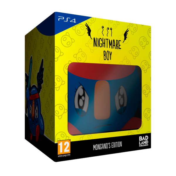 Nightmare Boy Mongano's Edition PS4 Game