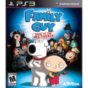 Family Guy Back to the Multiverse! Game PS3  [Damaged Packaging]