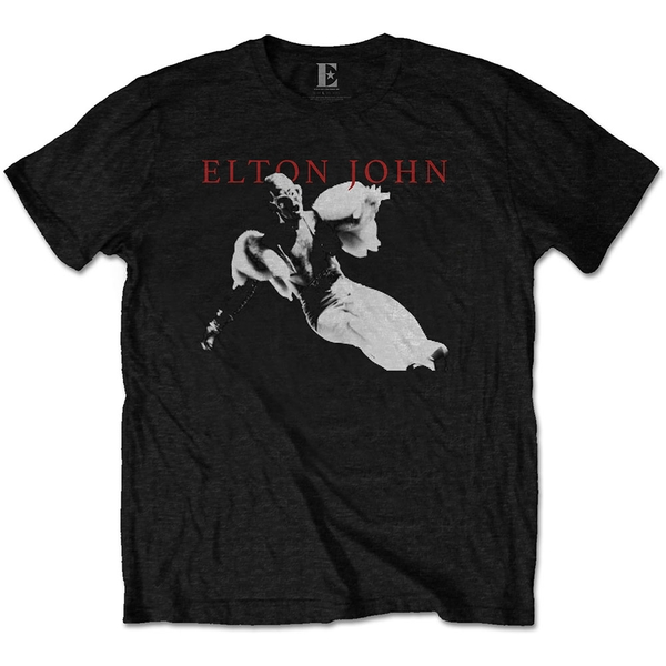 Elton John - Homage 1 Men's Large T-Shirt - Black