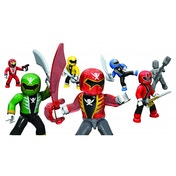 Mega Bloks Power Rangers Super Force Micro Action Figures Random