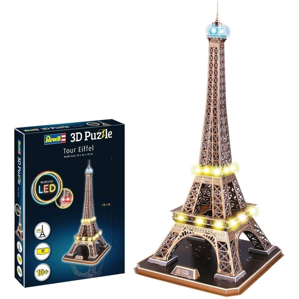 Eiffel Tower LED Edition Revell 3D Puzzle