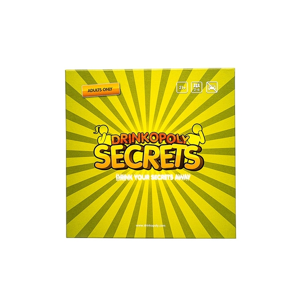 Drinkopoly Secrets: Drink Your Secrets Away! Board Game - Image 1