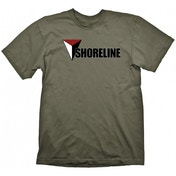 Uncharted 4 Shoreline T-shirt Khaki Green Medium