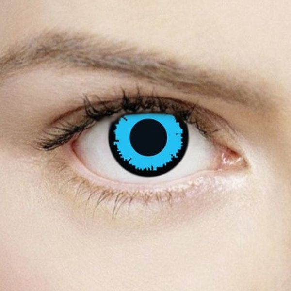 Angelic Blue 1 Day Halloween Coloured Contact Lenses (MesmerEyez XtremeEyez)