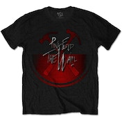 Pink Floyd - The Wall Oversized Hammers Unisex X-Large T-Shirt - Black