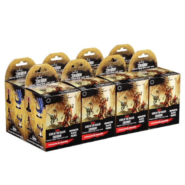 Dungeons & Dragons Icons of the Realms: Eberron: Rising from the Last War - 8 Booster Bricks