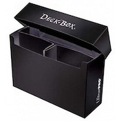 Ultra Pro 3 Compartment Oversized Black Deck Box
