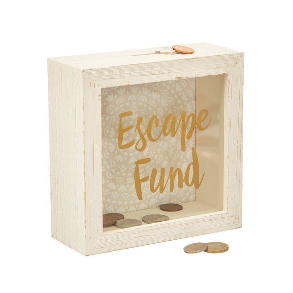 Sass & Belle Escape Fund Money Box