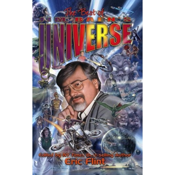 The Best Of Jim Baen's Universe Hardcover