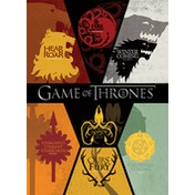 Game Of Thones - Sigils Postcard
