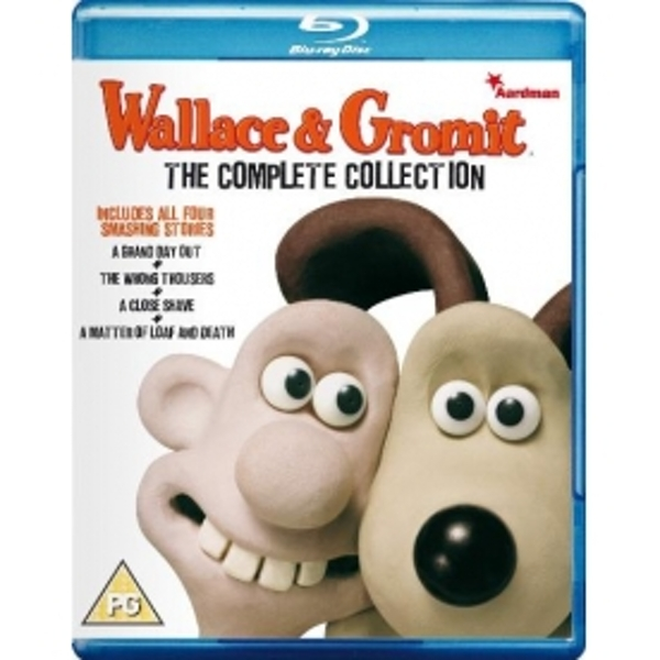 Wallace & Gromit The Complete Collection Blu Ray