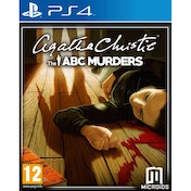 Agatha Christie The ABC Murders PS4 Game