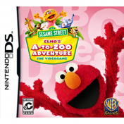 Sesame Street Elmos A-to-Zoo Adventure Game DS (#)