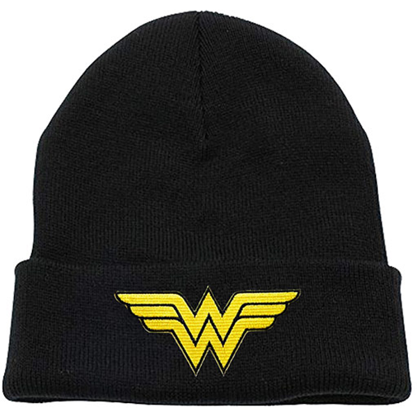 Wonder Woman - Logo Beanie - Black (One size)