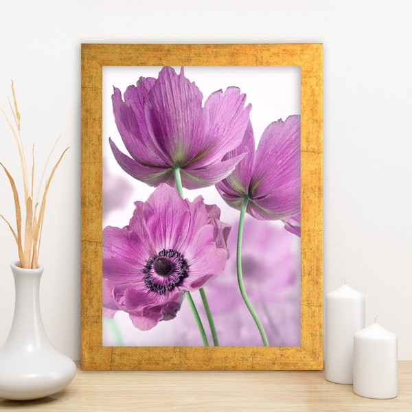 AC1680333025 Multicolor Decorative Framed MDF Painting