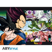 Dragon Ball - Dbz/ Sangoku & Ennemis Small Poster