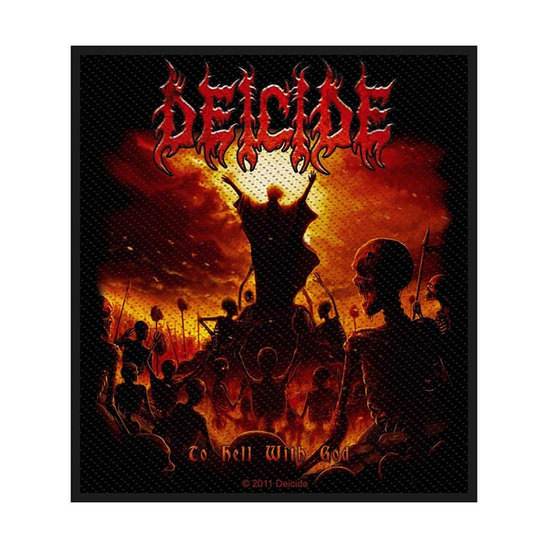 Deicide - To Hell With God Standard Patch