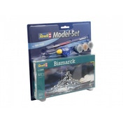 Bismarck 1:1200 Revell Model Set