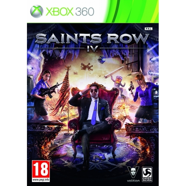 Saints Row IV 4 Game Xbox 360