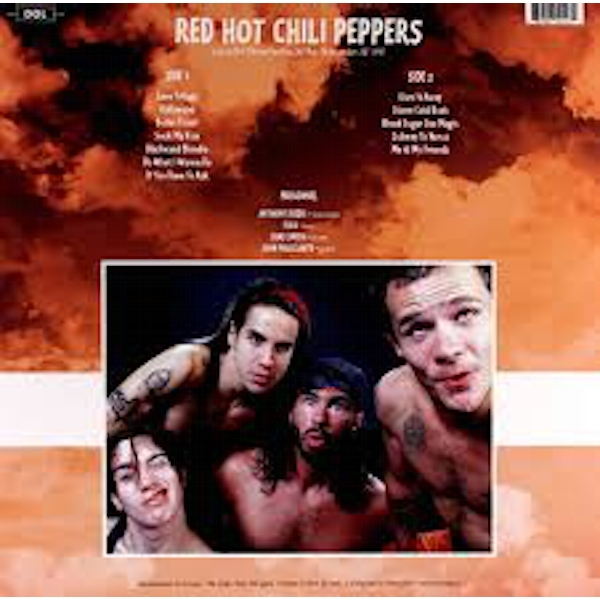Red Hot Chili Peppers ‎– Live At Pat O'Brien Pavilion, Del Mar, CA December 28th 1991 Vinyl