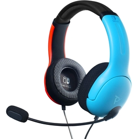 LVL40 Wired Headset Blue & Red for Nintendo Switch