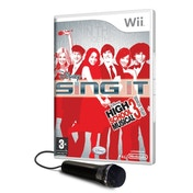 Disney Sing It High School Musical 3 Senior Year Game + Microphone Wii