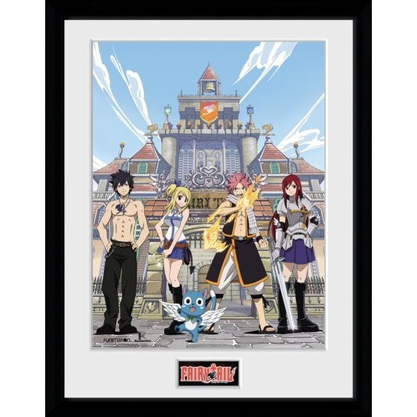 Fairy Tail Season 1 Collector Print - Image 1