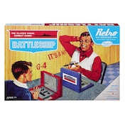 Retro Battleship Game