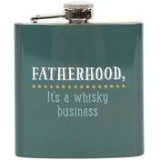 Fatherhood Whisky Hip Flask