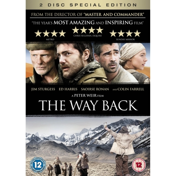 The Way Back DVD