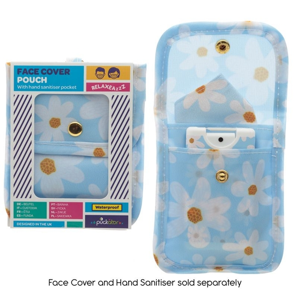 Oopsie Daisy Face Covering & Hand Sanitiser Pouch