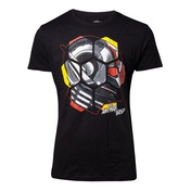 Marvel Ant-Man and the Wasp - Ant-Man Head Men's Large T-Shirt - Black