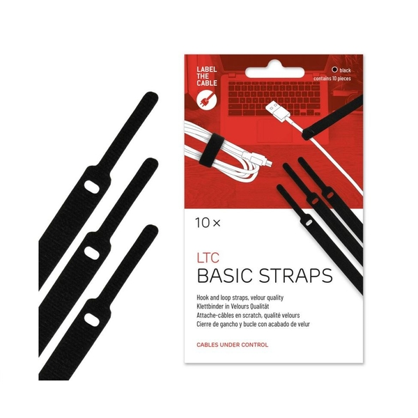 Image of LTC Basic Cable Management Ties (black)