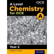 A Level Chemistry A for OCR Year 2 Student Book by Dave Gent (Paperback, 2015)