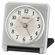 Seiko QHT016S Ascending Beep Alarm Clock with Light Function Silver