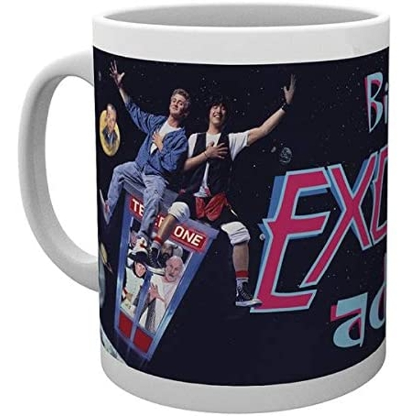 Bill and Ted Excellent Adventure Mug